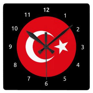 De Turkse Klok van de Muur van de vlag