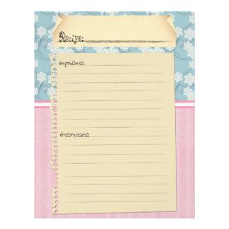 De Tussenvoegsels van het recept (voor en Folders