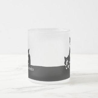 De TuxedoTrio Berijpte Mok van het Glas