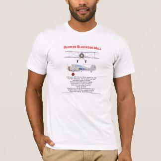 De tweedekker van de Gladiator van Gloster van 73 T Shirt