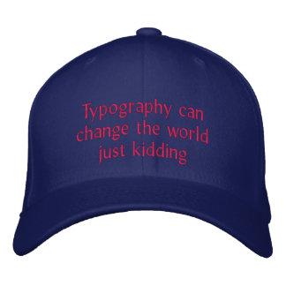 De typografie kan de wereld veranderen pet 0