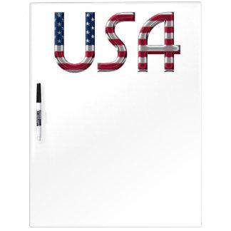 De typografie van de Kleuren van de Vlag van de Whiteboard