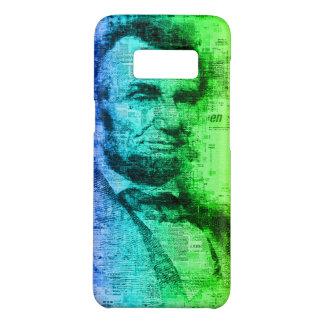 De Typografie van de Regenboog van Abraham Lincoln Case-Mate Samsung Galaxy S8 Hoesje