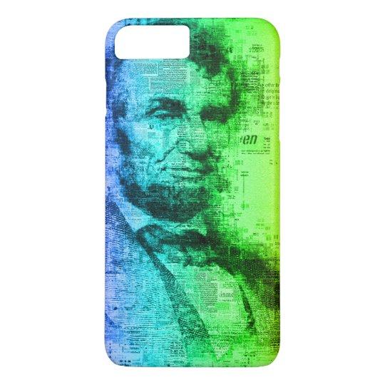 De Typografie van de Regenboog van Abraham Lincoln iPhone 7 Plus Hoesje