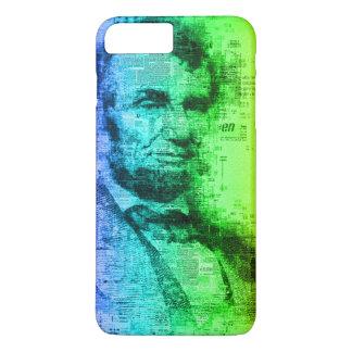 De Typografie van de Regenboog van Abraham Lincoln iPhone 8/7 Plus Hoesje