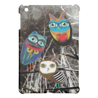 DE UIL OWLY VAN UILEN iPad MINI COVER