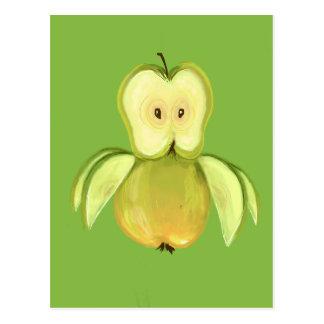 De uil van Apple Briefkaart