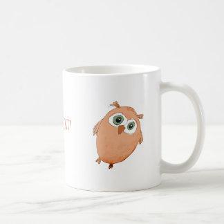 De Uil van de cartoon! Koffiemok