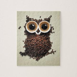 De Uil van de koffie Puzzel