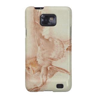 De Uil van de Schuur van de Melkweg S van Samsung  Galaxy SII Hoesjes