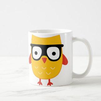 De Uil van Nerdy Koffiemok