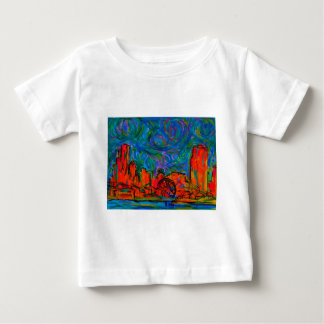 De Uitbarsting van Chicago Baby T Shirts