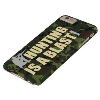 De uitdrukking van de pret voor alle jagers: De Barely There iPhone 6 Plus Hoesje