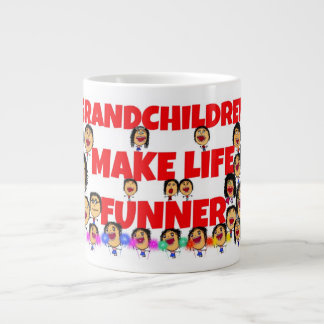 De Uitdrukkingen van kleinkinderen Grote Koffiekop