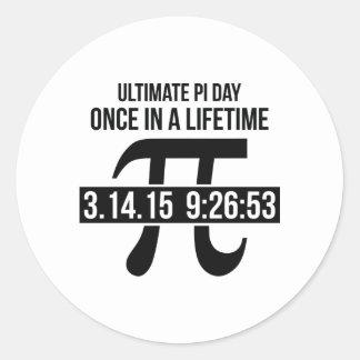 De uiteindelijke Dag van Pi Ronde Sticker