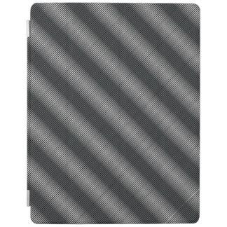 De uiterst dunne Zwarte & Witte Lijnen van de iPad Cover