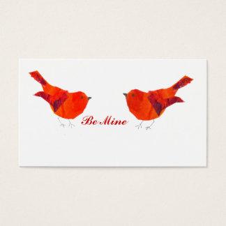 De uiterst kleine Kaart van de Valentijnsdag ACEO Visitekaartjes