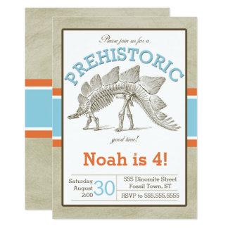 De Uitnodiging Dino Invite van de dinosaurus