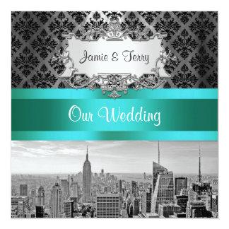 De Uitnodiging F2 van het Huwelijk van het Damast
