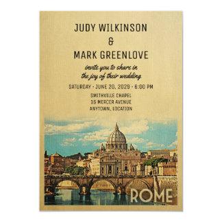 De Uitnodiging Italië van het Huwelijk van Rome