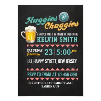 De Uitnodiging van Chuggies & van het Baby shower