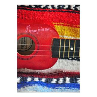 De Uitnodiging van Cinco DE Mayo van de gitaar