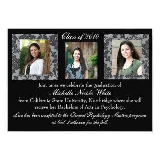 De Uitnodiging van de Afstuderen van het damast