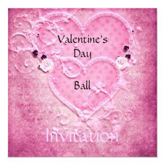 De Uitnodiging van de Bal van de Valentijnsdag