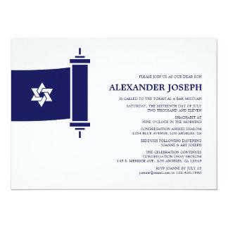 De Uitnodiging van de Bar mitswa van Torah