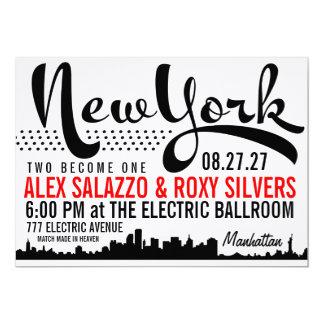 De Uitnodiging van de Bestemming van NEW YORK