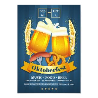De Uitnodiging van de Bieren van Oktoberfest