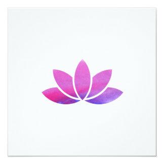 De Uitnodiging van de Bloem van Lotus van de