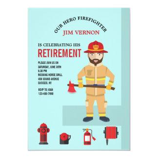 De Uitnodiging van de brandweerman en van het