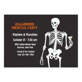 De Uitnodiging van de Cocktail party van Halloween