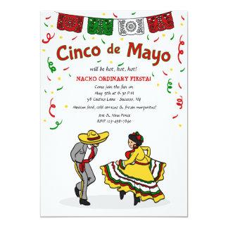 De Uitnodiging van de Dansers van Cinco DE Mayo