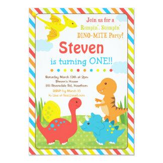 De Uitnodiging van de dinosaurus/Dino Invitation