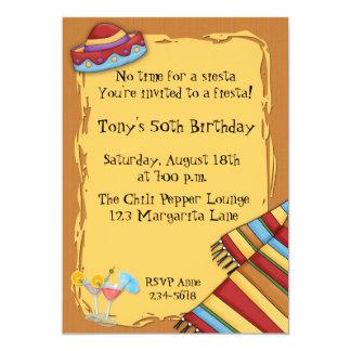 De Uitnodiging van de fiesta