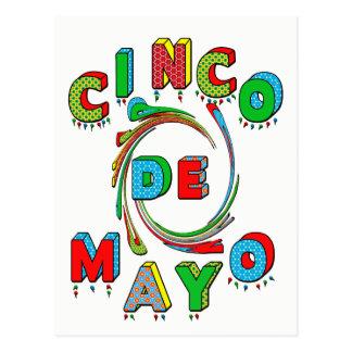 De Uitnodiging van de Fiesta van Cinco DE Mayo - Briefkaart