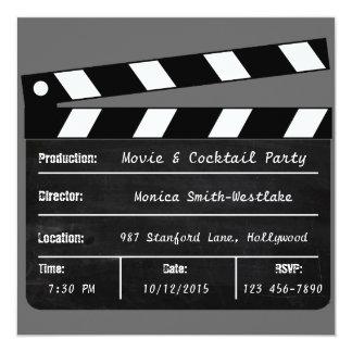 De Uitnodiging van de film & van de Cocktail party