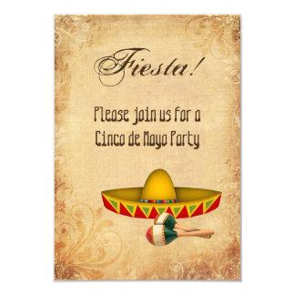 De Uitnodiging van de Partij van Cinco DE Mayo