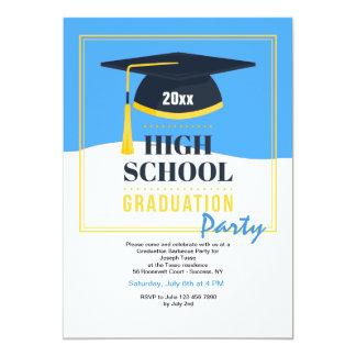 De Uitnodiging van de Partij van de Afstuderen van