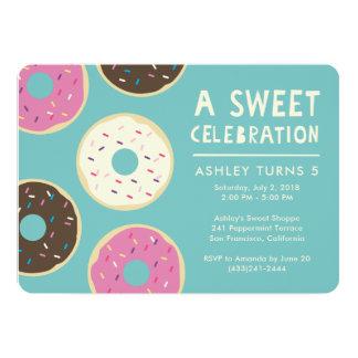 De Uitnodiging van de Partij van de doughnut