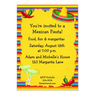 De Uitnodiging van de Partij van de fiesta