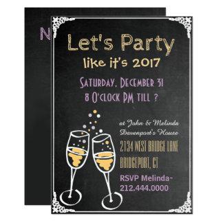 De Uitnodiging van de Partij van de Nieuwjaren van