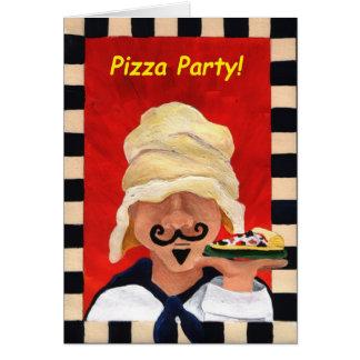De Uitnodiging van de Partij van de pizza