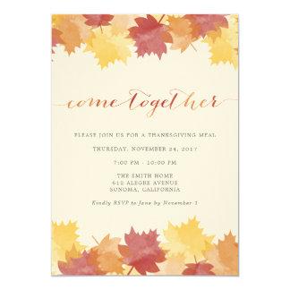 De Uitnodiging van de Partij van de Thanksgiving