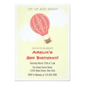 De Uitnodiging van de Partij van de Verjaardag van 12,7x17,8 Uitnodiging Kaart