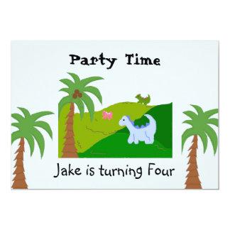 De Uitnodiging van de Partij van de Verjaardag van