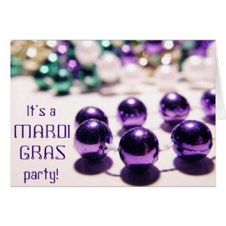 De Uitnodiging van de Partij van Gras van Mardi