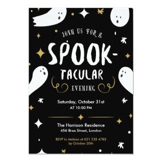 De Uitnodiging van de Partij van Halloween van